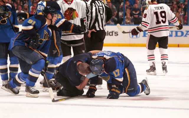 St. Louis Blues/Mark Buckner