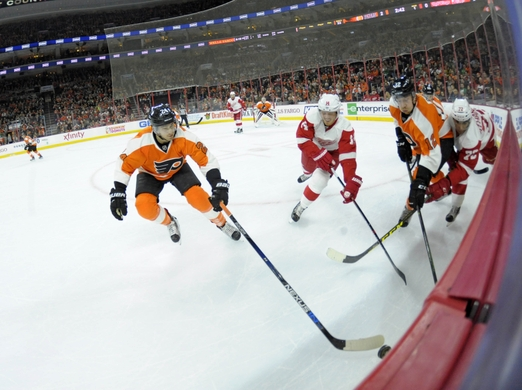 NHL: Detroit Red Wings at Philadelphia Flyers