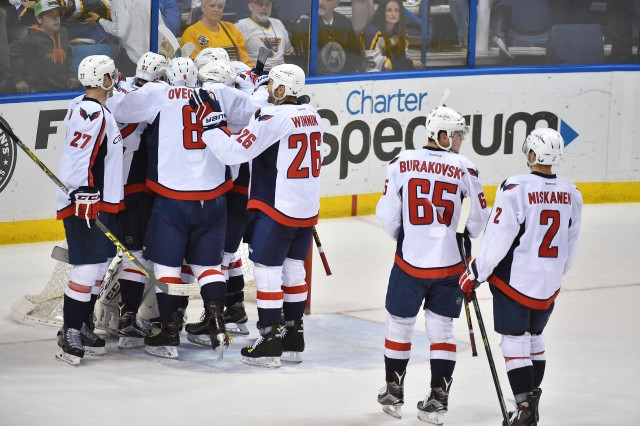 NHL: Washington Capitals at St. Louis Blues