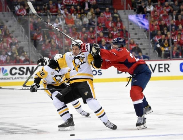 Karl Alzner, Sidney Crosby